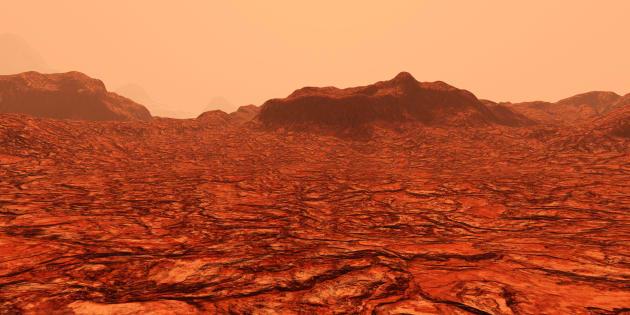Así luce la superficie de Marte, según expertos que han elaborado maquetas gracias a los datos proporcionados por la NASA