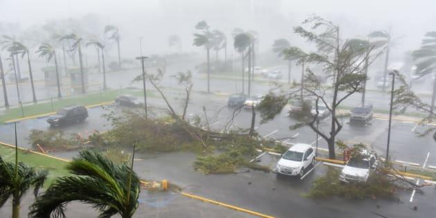 """Ouragan Maria: les images de Porto Rico frappé par """"l'ouragan le plus dévastateur"""" de son histoire"""