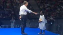 Les conseils politiques d'Emmanuel Macron à un enfant de 6