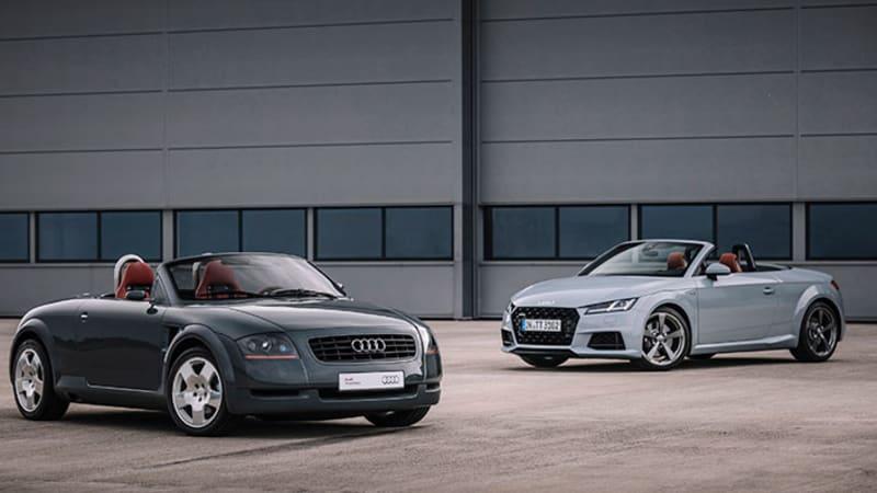 Audi TT 20th Anniversary Edition pricing announced — play ball!