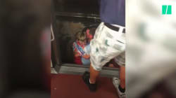 Coincés dans un métro devenu fournaise, ces voyageurs ont vécu une évacuation