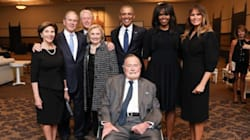 4 Presidents, 4 First Ladies Pose For Photo At Barbara Bush