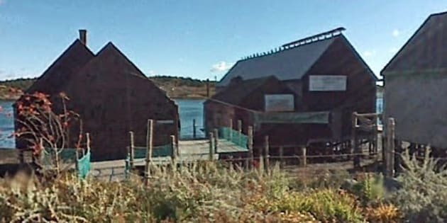 The shed is among five buildings in Lubec, Maine that comprise the last traditional smoked-herring facility in the U.S.