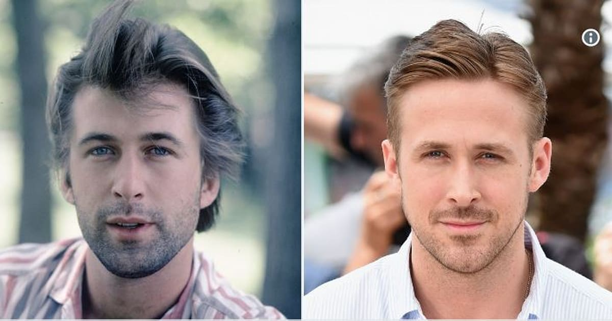 Ryan Gosling And Alec Baldwin Are The Most Unlikely Celebrity Lookalikes