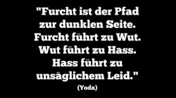 Die Welt cite maître Yoda pour inciter les Allemands à ne pas céder à la