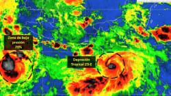 Depresión tropical 23-E provocará lluvias