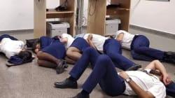 Cette photo de 6 employés de Ryanair leur a coûté leur