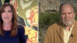 La tensa entrevista de Mamen Mendizábal al presidente de la Fundación Francisco