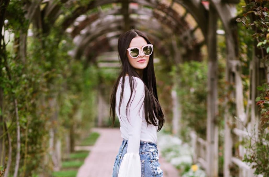 Get To Know Fashion Blogger Rach Parcell Like Never Before Aol
