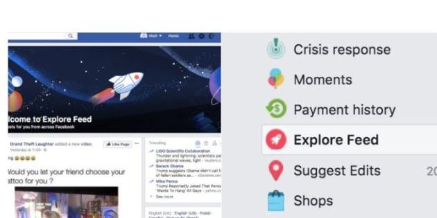 Facebook separa le Pagine dal News Feed