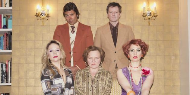 Abigail's party, de Mike Leigh par Thierry Harcourt au Théâtre de Poche-Montparnasse