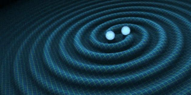 Résultats de recherche d'images pour «ondes gravitationnelles découverte»