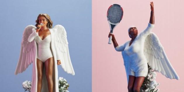 Vous pouvez mettre Beyoncé tout en haut de votre sapin