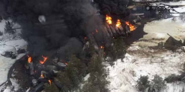 Two train derailments in northern Ontario caused major oil spills in 2015.