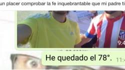La conversación de WhatsApp padre e hijo que triunfa por su sincero