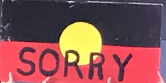 What is so offensive about saying sorry?