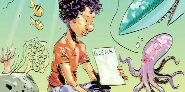La vignetta di Makkox sul 14enne morto in mare con la pagell