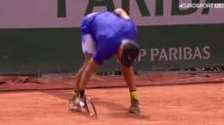 À Roland-Garros, ce Croate pète un plomb et sa