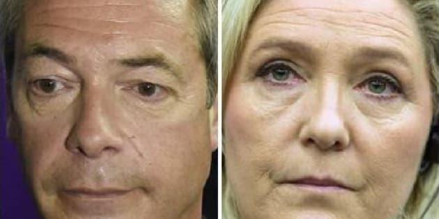 """Farage e Le Pen guidano il fronte degli indignati. """"In"""