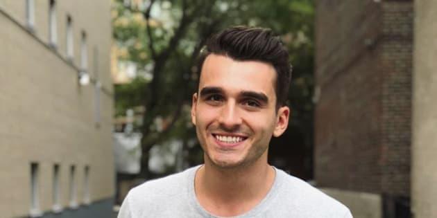 Le chanteur et candidat d'«Occupation Double Grèce» Olivier Couture