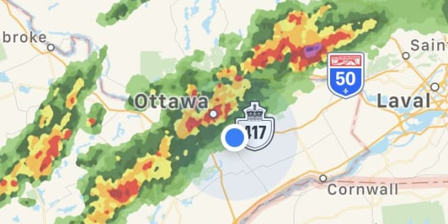 Tens of thousands without power following tornado in Ottawa region
