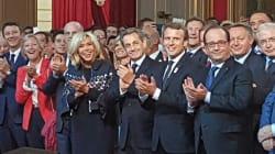 Pour fêter Paris-2024, Macron convie Hollande et Sarkozy à