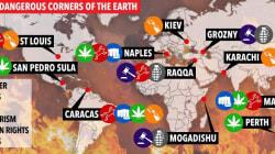 Napoli come Raqqa: tra i 10 posti più pericolosi al mondo (secondo il
