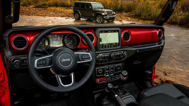 Jeep Wrangler Colors >> 2018 Jeep Wrangler Interior Revealed With Retro Touches And Bright