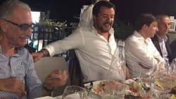 Matteo Salvini se fue de fiesta tras la tragedia del puente de