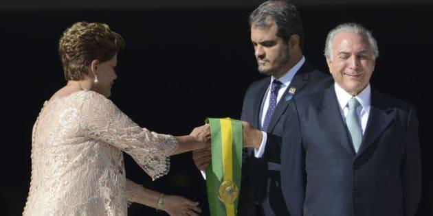 Dilma Rousseff e seu então vice, Michel Temer, tomaram posse em 1º de janeiro de 2015.