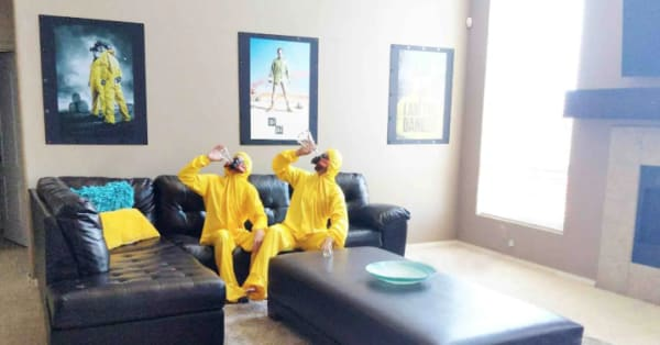 There's a 'Breaking Bad' house on Airbnb and it's everything you'd imagine it to be