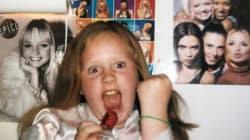 Reconnaissez-vous cette petite fille fan des Spice