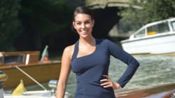 La sensual imagen de Georgina Rodríguez en bikini que encierra un mensaje de amor hacia