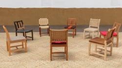Las sillas de Oscar Hagerman revelan la belleza y poder del diseño