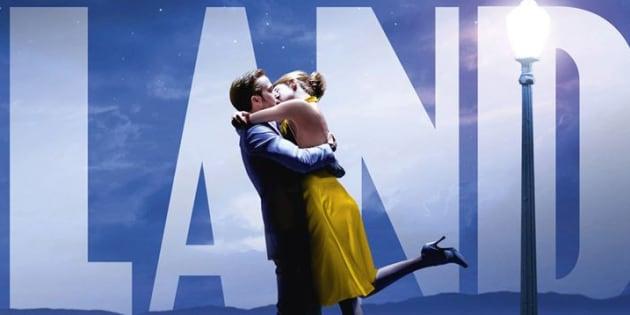 """L'affiche de """"La La Land"""""""