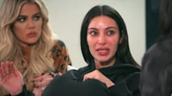 Kim Kardashian en larmes: