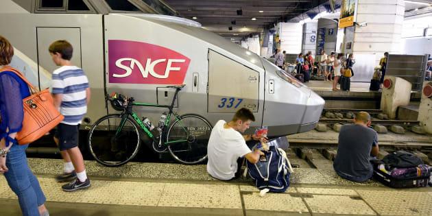 Montparnasse: la liste des 47 TGV supprimés au départ et à l'arrivée de la gare mercredi (photo d'illustration prise le 27 juillet 2018 à la gare Montparnasse.)
