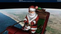 Le Père Noël a commencé sa tournée (et on peut la suivre en