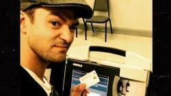 En prenant ce selfie, Justin Timberlake s'attire des ennuis avec la