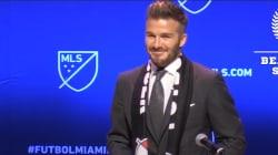 L'équipe de foot de David Beckham va intégrer le Championnat