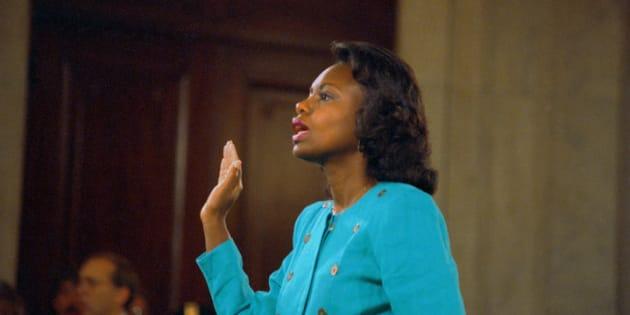 1991年、アニタ・ヒル氏は、クラレンス・トーマス氏からセクハラを受けたことを証言し、アメリカ中の女性が衝撃を受けた。