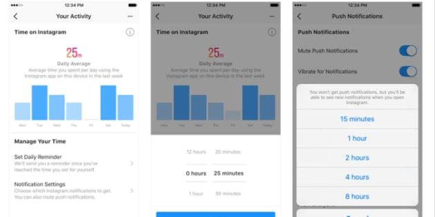 Facebook annonce un outil pour mesurer le temps que vous y passer (ainsi que sur Instagram)