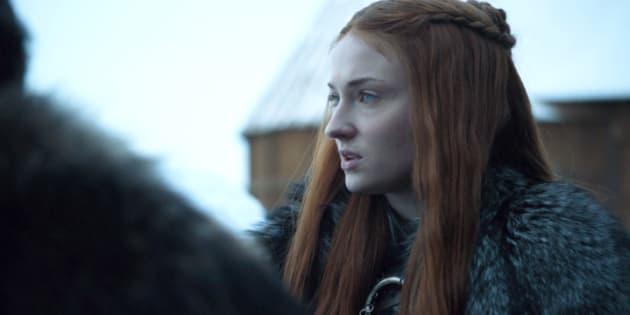 """""""Game of Thrones"""": le détail capillaire de Sansa que personne n'avait remarqué"""