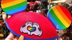 ミッキーマウスの耳がレインボーに。米ディズニーランドのLGBTQを祝福する帽子がかわいい