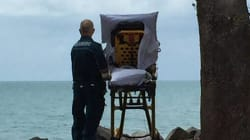 Palliative Care Patient Taken To See The Beach By