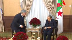 De rares images de Bouteflika diffusées après l'annonce de son