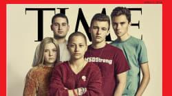 アメリカを変える5人の高校生たち、タイム誌の表紙を飾る