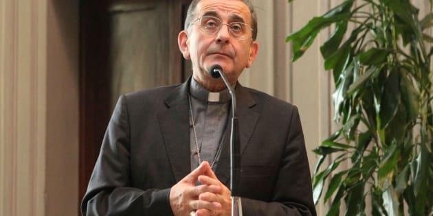 Foto Nicola Vaglia/ LaPresse 07-07-2017 Milano, Italia  Milano, Nuovo Vescovo di Milano   nella foto: Delpini    Photo Nicola Vaglia/ LaPresse