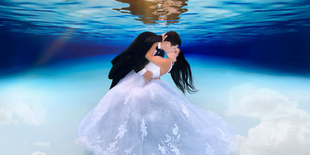 Yayi and Peter Pezaris are one of many couples to take the plunge with photographer Adam Opris.