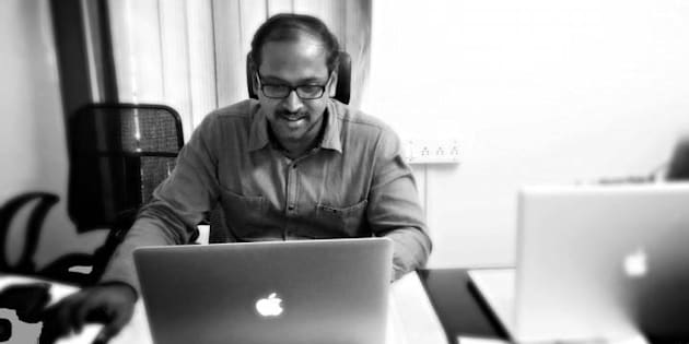 Graphic designer Anand Thangavel left a full time job to work from home and has just cracked the $1 million mark in earnings after five years.